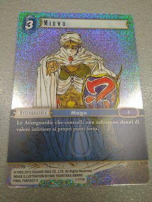 3 Minwu Mage 1-171H Final Fantasy Trading Card TCG Square Enix