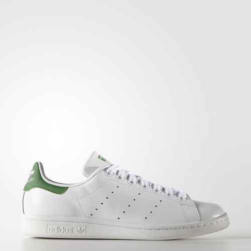 B24105 Women's Adidas Stan Smith shoes   RUNNING WHITE RUNWHT FAIRWAY GREEN