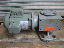 Us Motors Gear Motor Amp 1001 Reducer By Cleveland M2614bs 100c004 Amp A474 Sefm