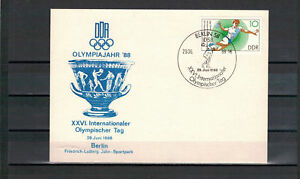 DDR-FDC-034-XXVI-Internationaler-Olympischer-Tag-034-MiNr-3112-SSt-Berlin-29-06-1988