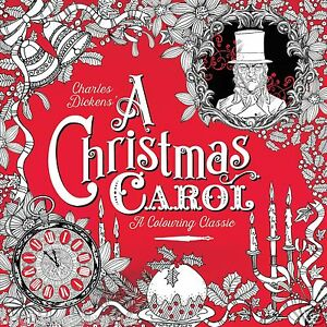 Image Is Loading A Christmas Carol Adult Colouring Book Dickens Victorian
