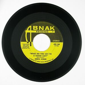 ERROL-SOBER-What-Do-You-Say-To-A-Naked-Lady-I-039-ll-Come-Running-7IN-1970-ROCK-NM