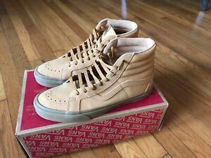 e458f9491f6822 Vans SK8 Hi Reissue Vansbuck Men s Shoes Size 10 Light Gum Mono ...