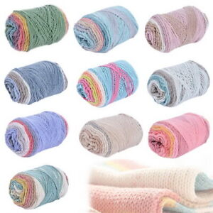 Mixed-Job-Lot-100g-DK-Hand-Knitting-Crochet-Milk-Soft-Baby-Cotton-Wool-Yarn-DIY