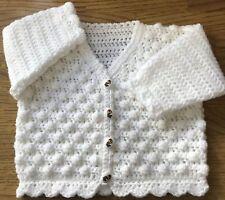 Easy Lady/'s Crochet Cardigan Pattern in DK 1037 Sizes 81cm - 112cm