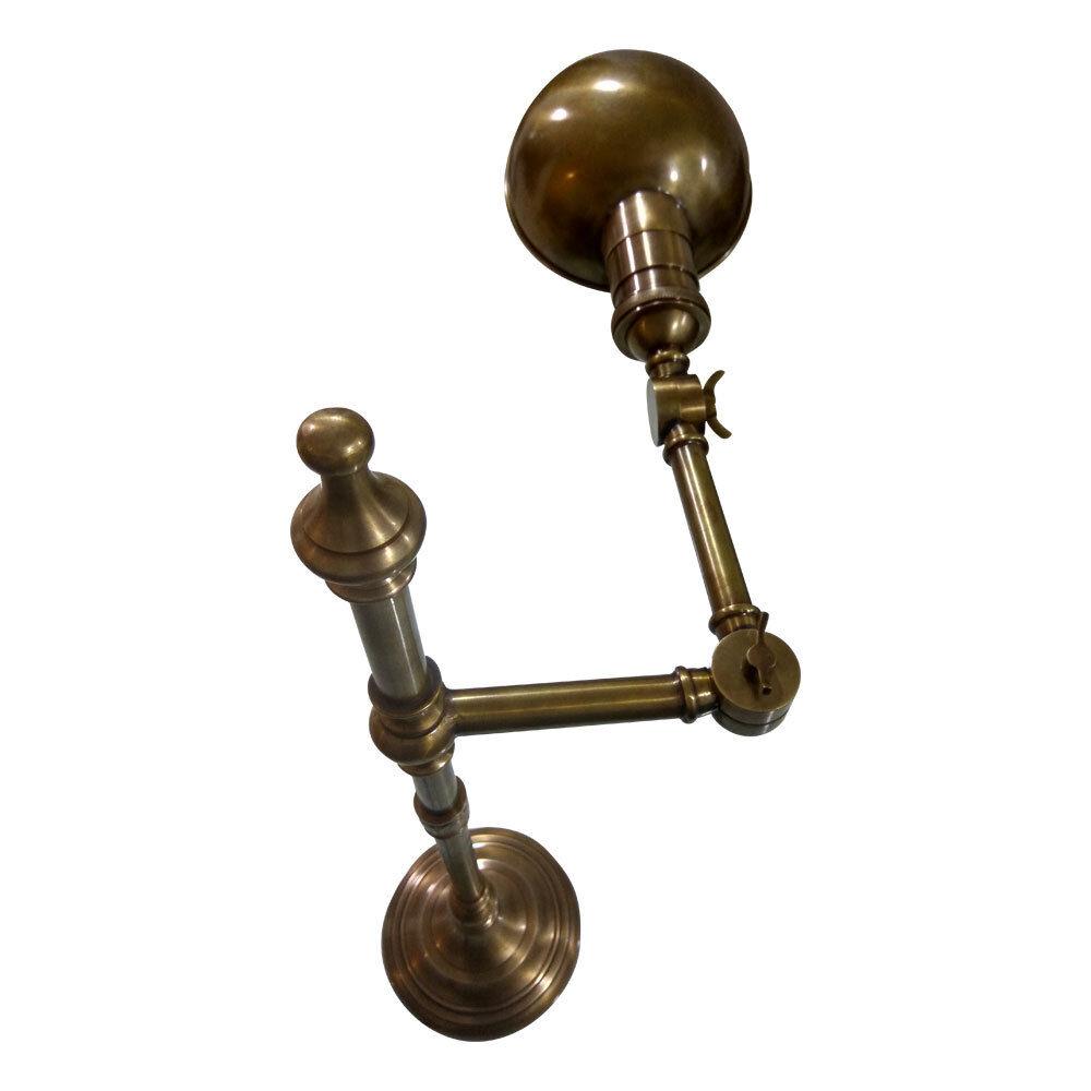 Lampada in metallo metallo metallo in ottone anticato-Lampada Dexter f605da
