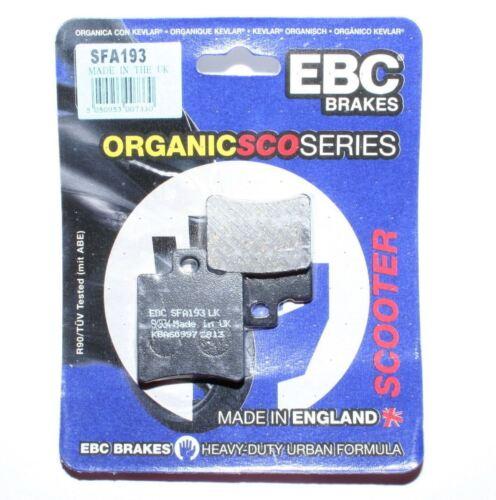 Piaggio NRG MC2 MC3 EBC Bremsbeläge SFA193