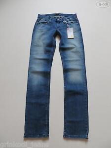 Levi-039-s-Straight-Jeans-Hose-W-28-L-34-NEU-Vintage-Washed-Denim-extra-lang