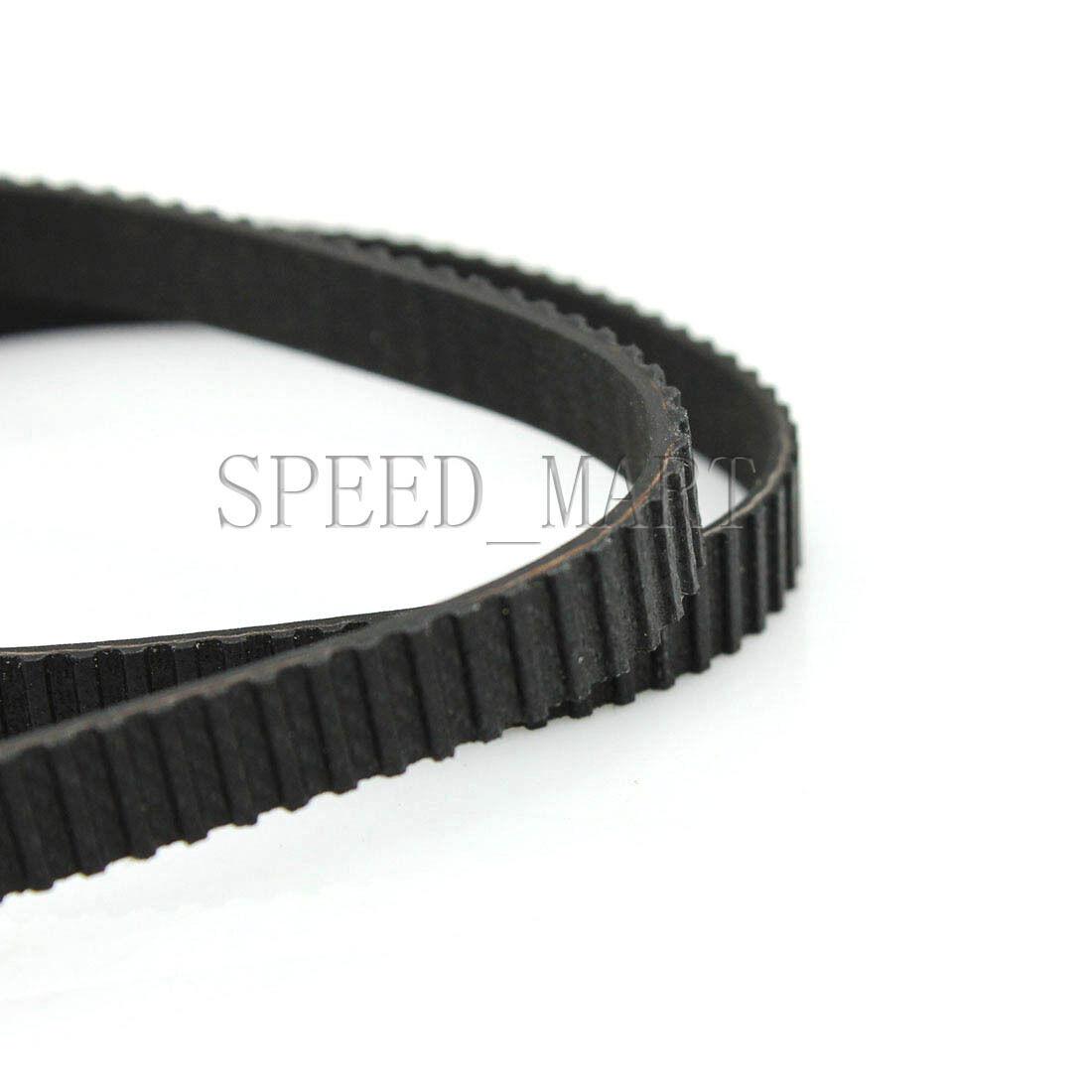 B43//B47//B50MXL Black Rubber Close Loop Timing Synchronous Belt 6//10mm Width