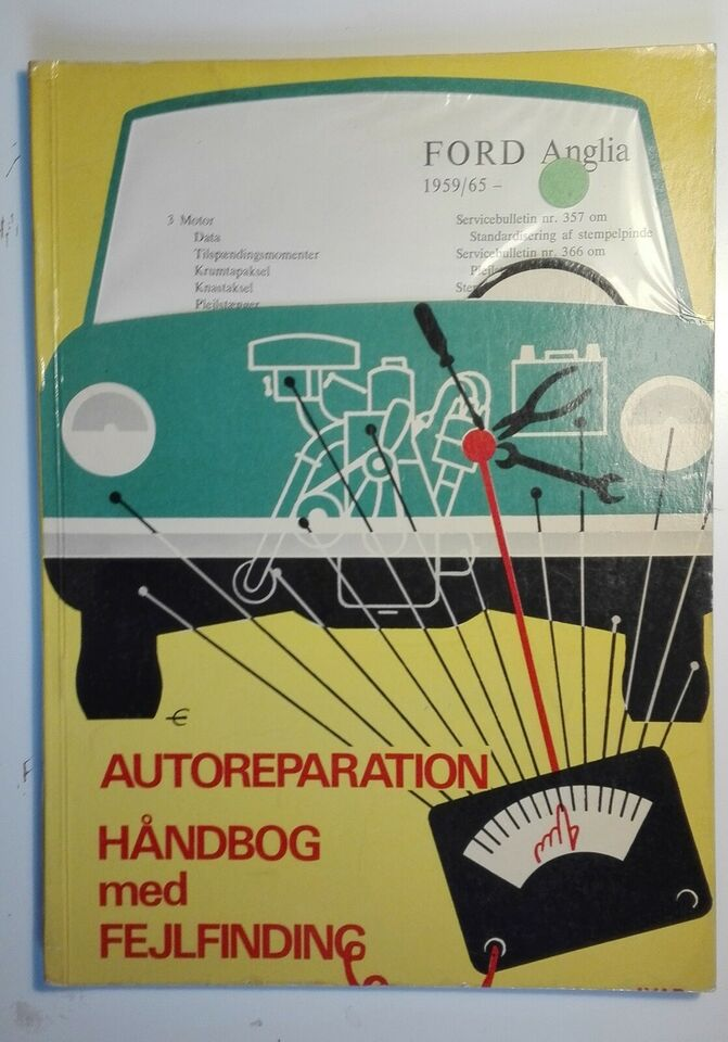 Værkstedshåndbog, Autoreparation - Håndbog med