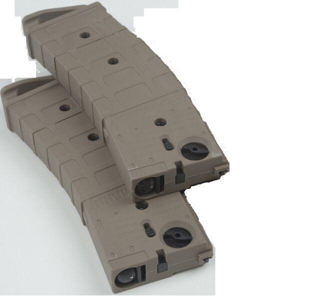 New Tippmann TMC Paintball Gun Marker Tru-Feed Magazine Mag 2 Pack