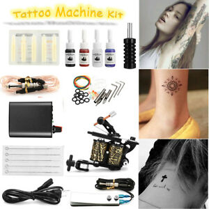 Complete-Tattoo-Kit-Tatuaggio-Macchinetta-Tatuaggi-Gun-Power-4-Haus-Deco-IT