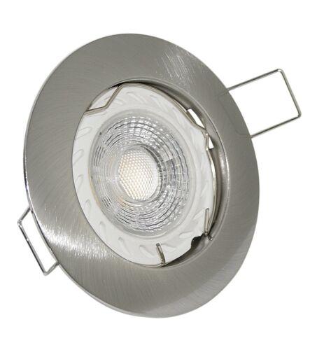 Decken Einbaustrahler GU10 LED COB 5W Lampe 230V Einbauleuchte Strahler Set Spot