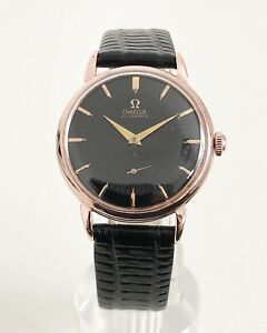 ROSE-GOLD-OMEGA-SUB-SECONDS-BLACK-DIAL-CAL-491-DATING-TO-1957