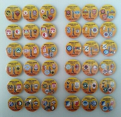 ALL 2020 - 2021 EUROPA LEAGUE Groups matches badges | eBay
