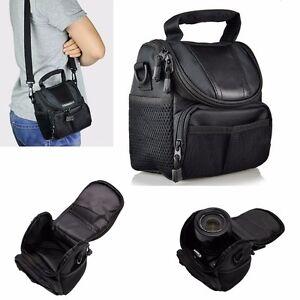 Waterproof Shoulder Bag Nylon Small Camera Case Handbag For Nikon Canon SLR DSLR