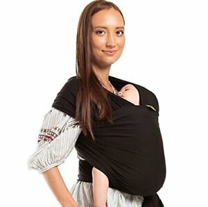 Details About Boba Baby Wrap Newborn Infant Carrier Black