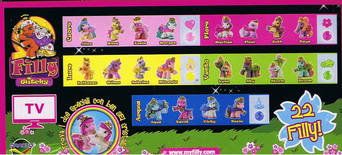 FILLY WITCHY   prima serie - COMPLETA - GEDIS 2014  disponibile