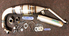 Aprilia RS125 RS 125 2007 - 2014 Arrow Exhaust System - Titanium End Can