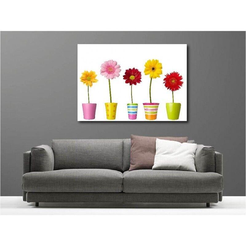Canvas fabric deco rectangle pot flower 65625301
