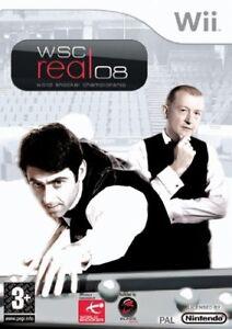 Nintendo-Wii-Wii-U-WiiU-Spiel-wsc-World-Snooker-Championship-Real-2008-NEU-NEW