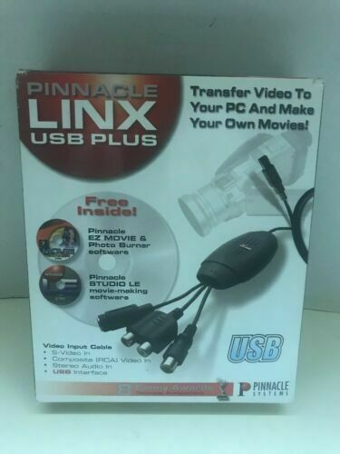 Pinnacle Systems Linx USB Plus (210100247) for sale online   eBay