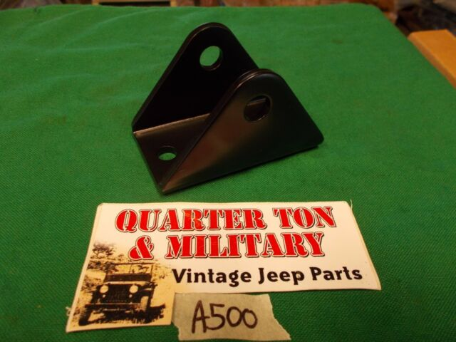 Jeep Willys MB GPW CJ2A 3A spring bolt hanger single A500