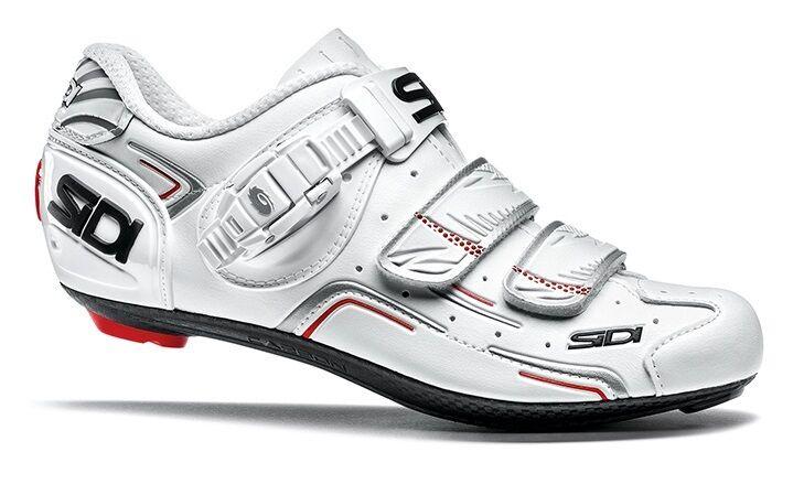 Nuevos Zapatos De Ciclismo Mujer Sidi nivel, blancoo blancoo, EU37-39.5