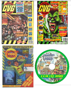 Details about CVG Computer & Video Games 133 PDF Issues DVD Retro Gaming  Magazine on 2 DVDs
