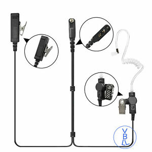 PTT-Covert-Acoustic-Tube-In-ear-Earpiece-Headset-for-ICOM-Portable-Radio