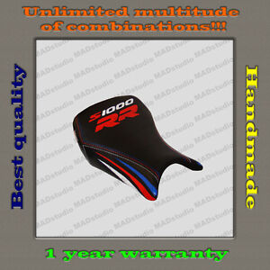 Custom-Design-Front-Seat-Cover-BMW-S1000RR-12-14-black-red-blue-white-strips-001