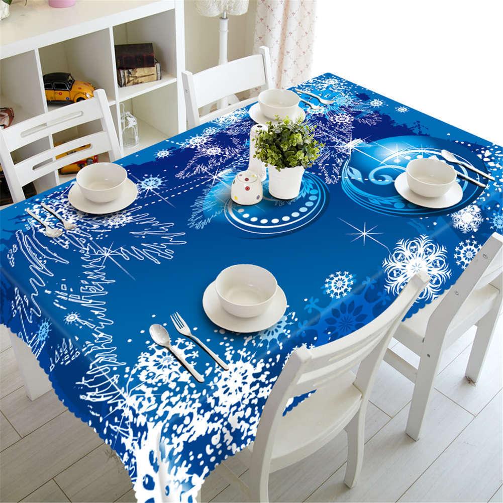 Lumiere Blau Blau Blau 3D Tablecloth Table cover Cloth Rectangle Wedding Party Banquet 27879c