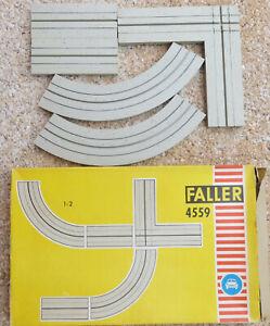 Faller-Ams-4559-Single-Track-Junction-Set-Boxed-JU488