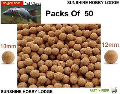 Carp Fishing Cork Balls 10mm 12mm For Pop Ups Pop Up Bait Poppers Boilie Inserts