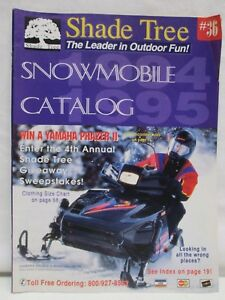 Details about Vintage Shade Tree 1994 - 1995 Winter Snowmobile Products &  Accessories Catalog
