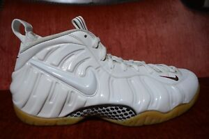 0ced2bf413cc9 Details about CLEAN Nike Air Foamposite Pro One Winter White Gorge Green  Size 11.5 624041-102