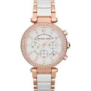 Michael-Kors-MK5774-Rose-Gold-Ceramic-Parker-Chronograph-Watch