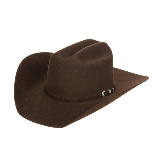 Greeley Hat Works Chocolate Showman Felt Hat
