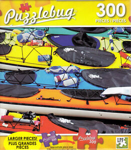 NEW Puzzlebug 300 Piece Jigsaw Puzzle ~ Colorful Sea ...