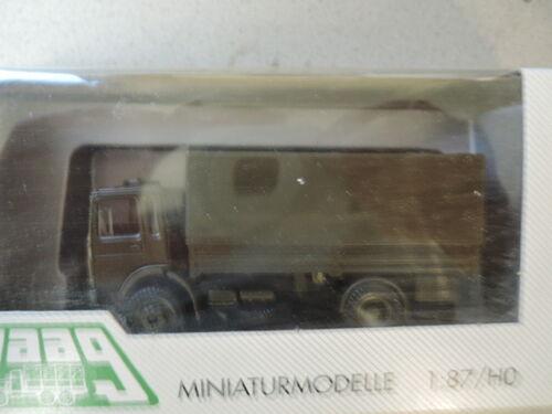 Herpa Maag 740074 Man camastro lona verde oliva ejército alemán de colección embalaje original 500