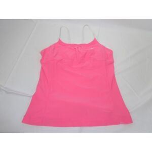 Nike-Fit-Dri-Yoga-fitness-top-pink-white-women-039-s-Small-4-6