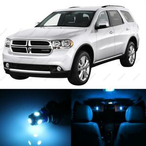 17 X Ice Blue Led Interior Light Package For 2011 2017 Dodge