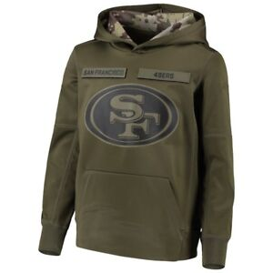 7cc3b841645 Men s San Francisco 49ers Sweatshirt Salute to Service Sideline ...