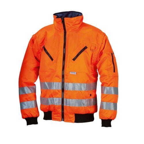 Réflexe Bandes Tournant Veste Warnschutz veste jaune ou orange warnjacke 3 M ™