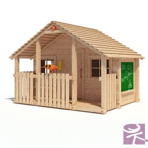Bobby Bell Xxl Spielhaus Kinderspielhaus Gartenhaus Holz Haus Spiel