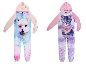 fa098e525 Image is loading Cat-Llama-Pajamas-Size-4-5-6-7-