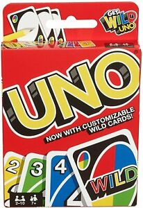 Uno-WILD-Kartenspiel-Karten-Gesellschaftsspiel-Klassik-Neu-uno-UNO