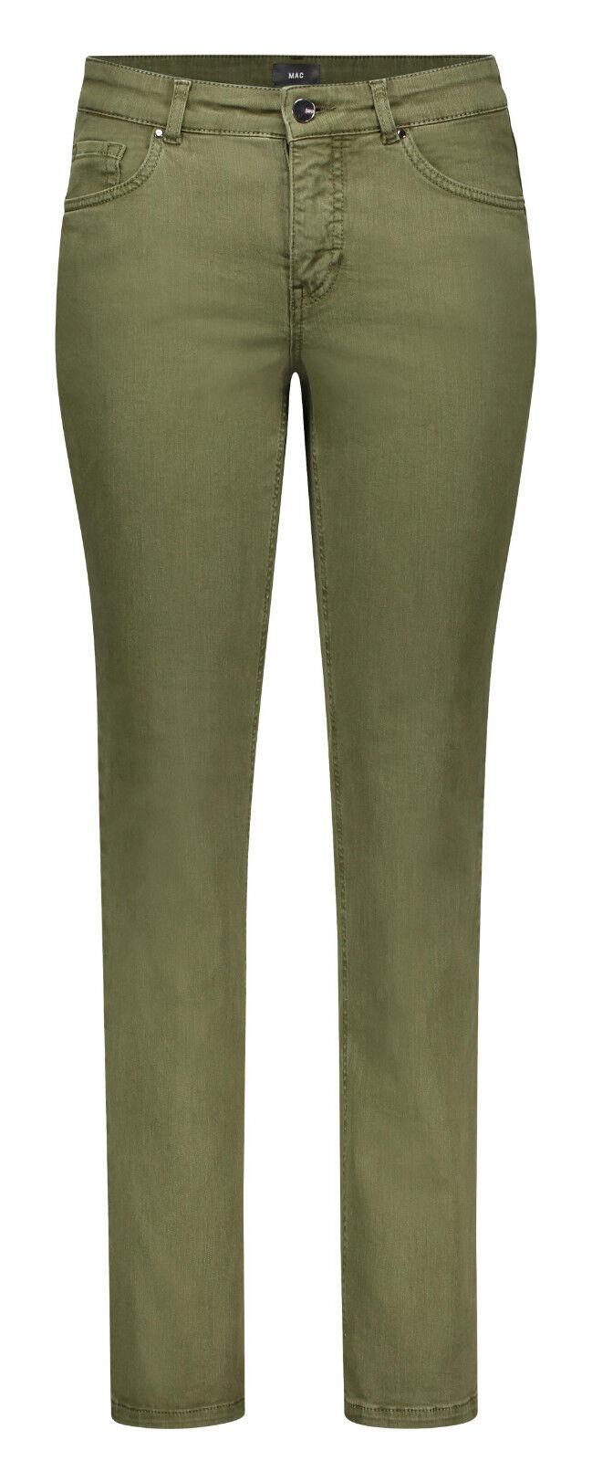 MAC Damen Jeans Melanie 5040 NEU military Grün 348R