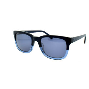 357558865a82 Image is loading Lacoste-L814S-424-Blue-Unisex-Full-Rim-Rectangle-