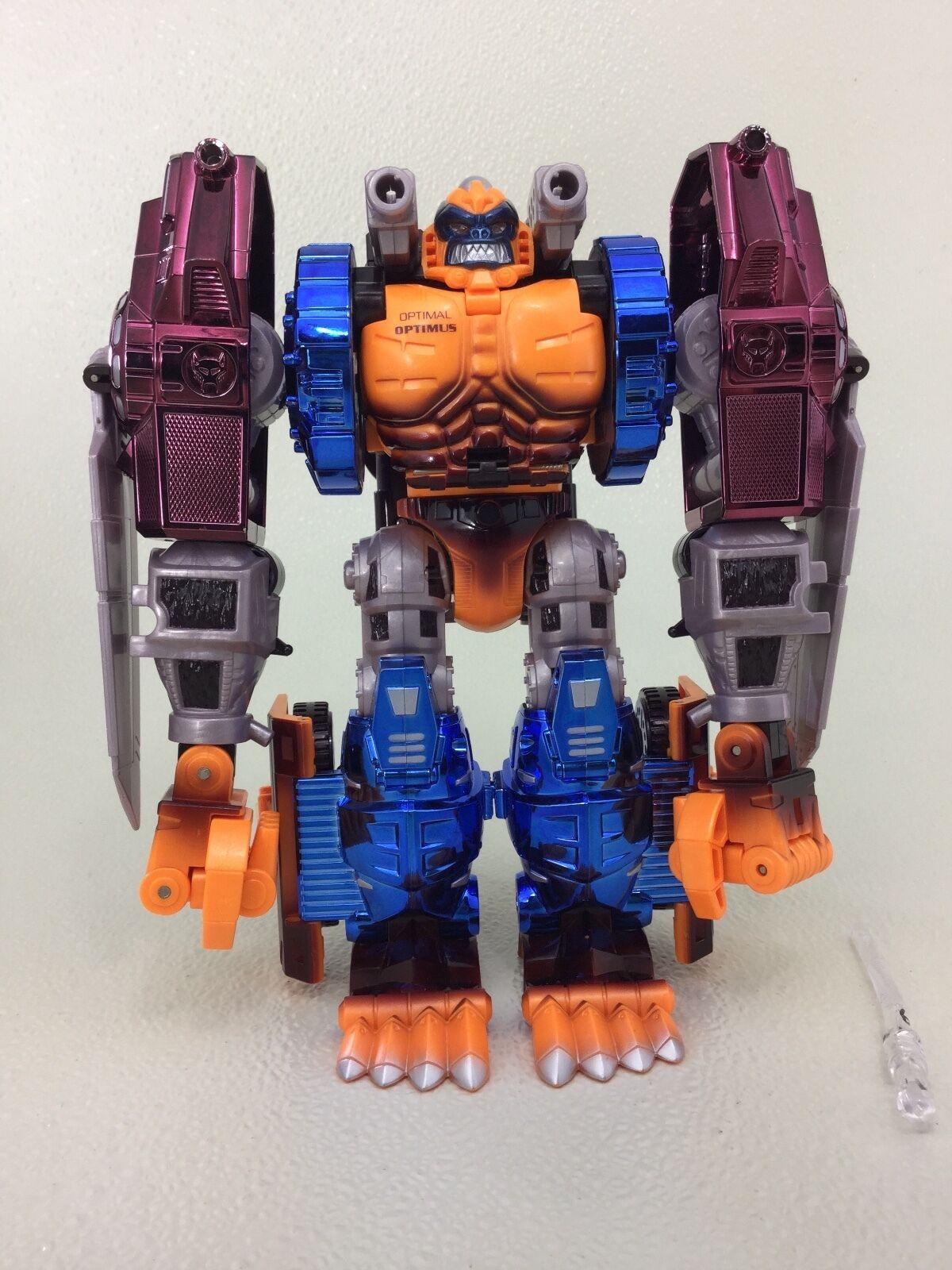 PredOTYPE Transformers Beast Wars OPTIMAL OPTIMUS OPTIMUS OPTIMUS electronic - Metalized 00733b